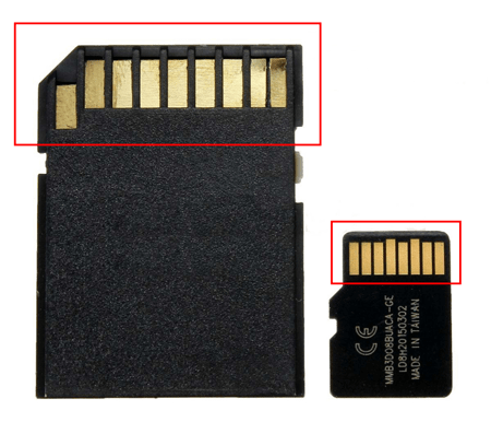 sd card metal section min