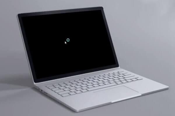 الشاشة السوداء في ويندوز 10