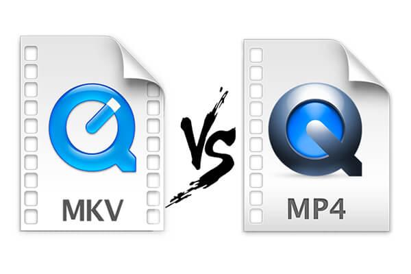 مقارنة الفرق بين MKV و MP4 وكيف تحويل من mkv الى mp4