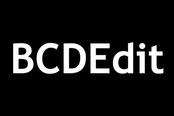 أوامر BCDEdit