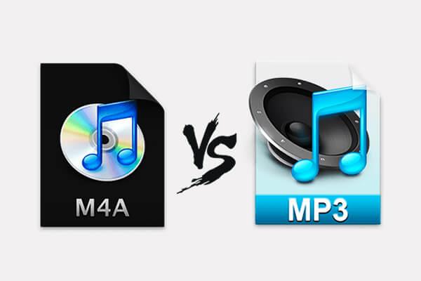 m4a وmp3