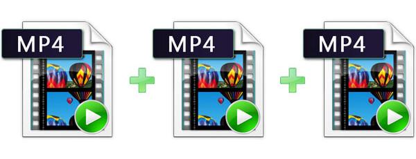 دمج الفيديوهات MP4