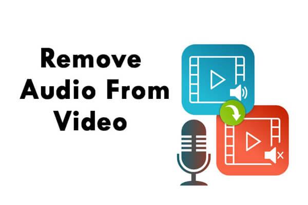 حذف الصوت من الفيديو