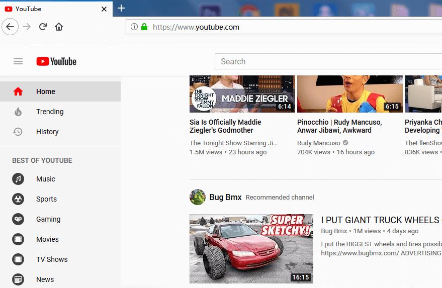 موقع يوتيوب يدعم flv