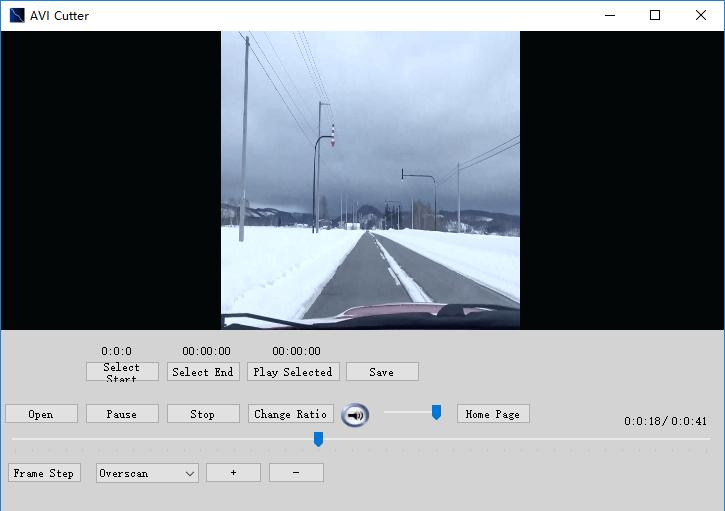 برنامج لقص الفيديو AVI Cutter
