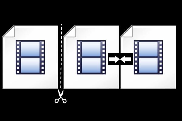 قطع الفيديو وتوصيل الفيديو