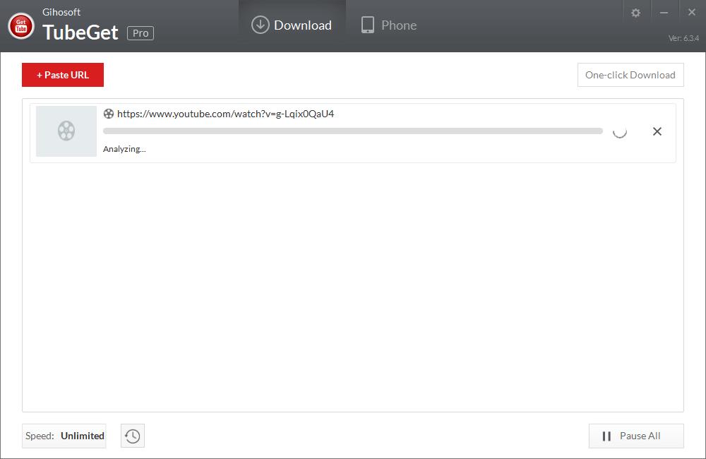 تحليل URL على Gihosoft