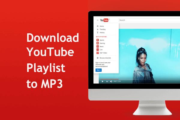 كيفية تنزيل موسيقى من اليوتيوب قائمة التشغيل