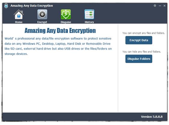 Amazing Any Data Encryption