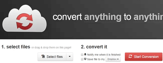 أداة CloudConvert