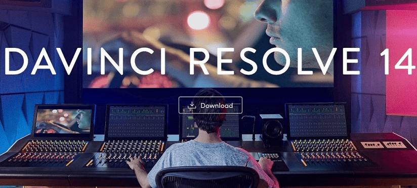 برنامج تعديل الفيديو DaVinci Resolve