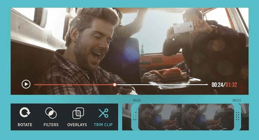 برامج تعديل الفيديو FilmoraGo