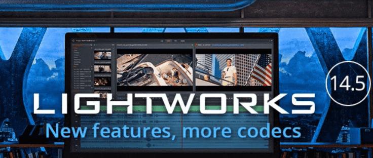 برنامج تعديل الفيديو Lightworks