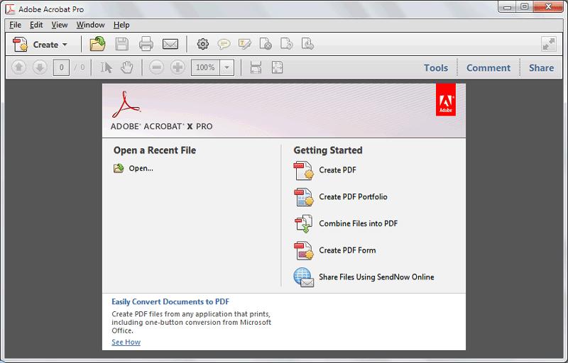 برنامج Adobe Acrobat Pro